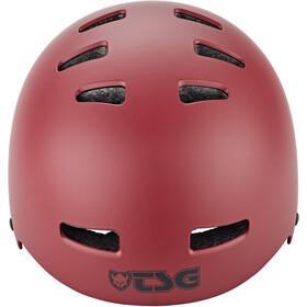 TSG Evolution Solid Color Casco, rosso